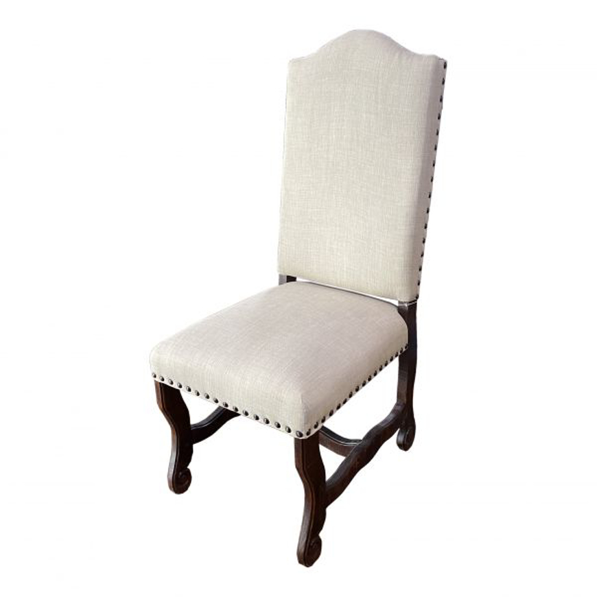 Picture of RUSTIC MODERN CHAIR WITH FABRIC - WO511