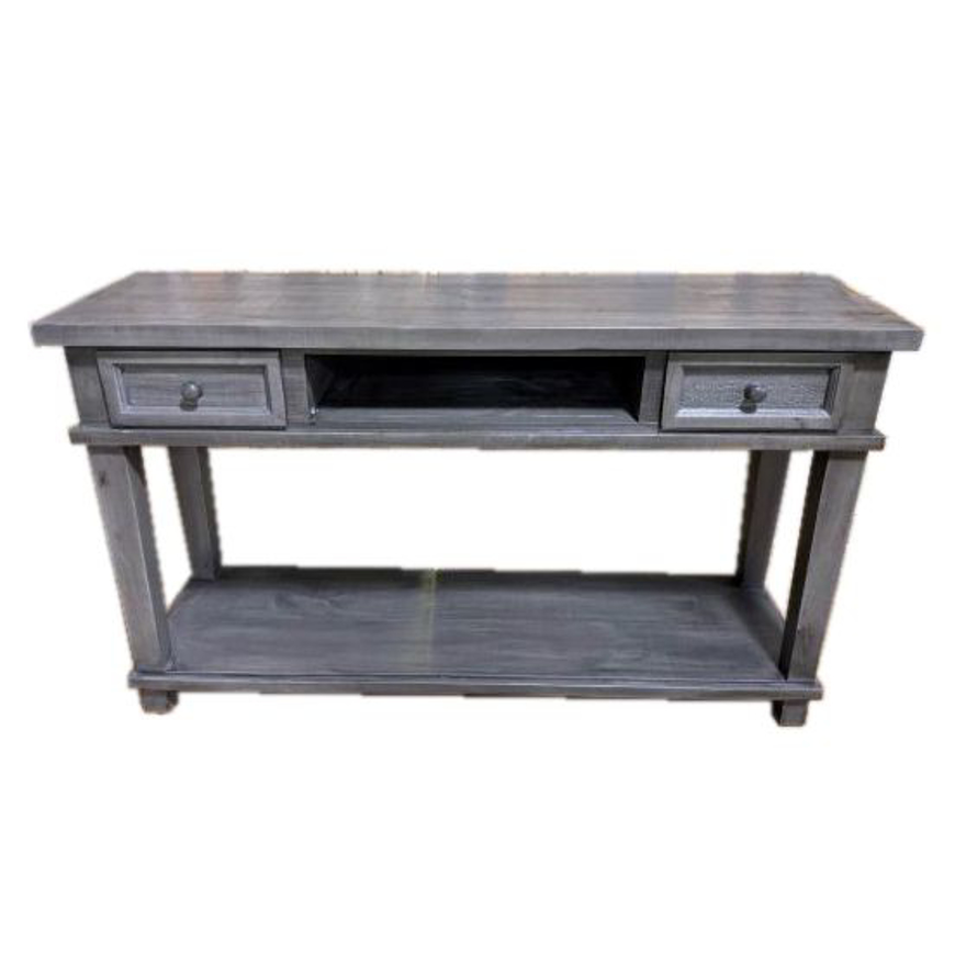 Picture of RUSTIC SOFA TABLE/ENTERTAINMENT CONSOLE