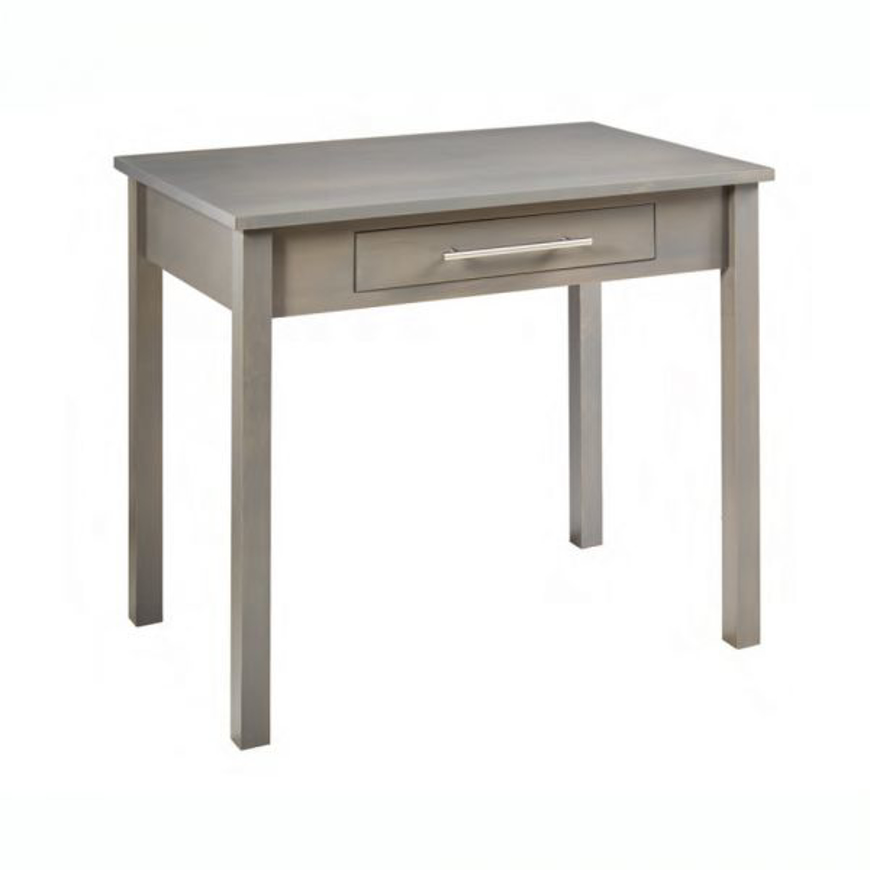 """Picture of Amish 36"""" Study Desk 1 Drawer"""