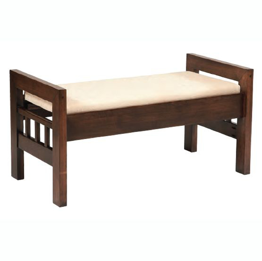 Picture of Amish Contemporary Footboard Bench