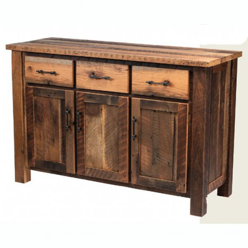 Picture of Amish Reclaimed Barnwood Buffet